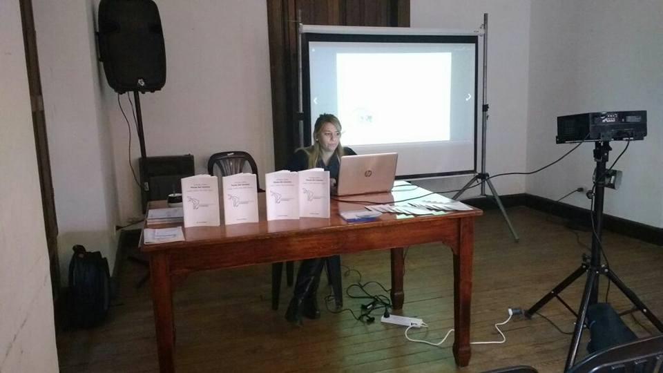 Presentación en la Casa de la Cultura de Alta Gracia, Córdoba