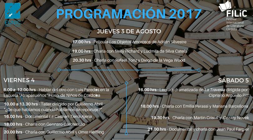 Comienza el Festival Internacional de Literatura en el CCEC
