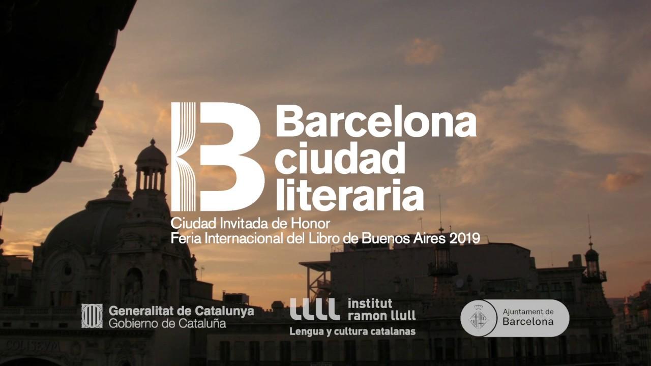 Barcelona será la invitada de honor de la Feria del Libro de Buenos Aires