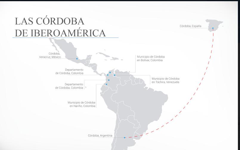 ¿Sabías que existen ocho Córdobas en Iberoamérica?