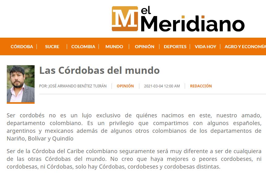 Las Córdobas del mundo