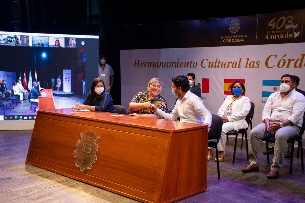 Se reunieron representantes de las Córdobas del mundo